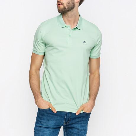 Dante Short Sleeve Polo Shirt // Mint (XS)