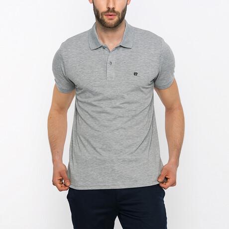 Lyon Short Sleeve Polo Shirt // Gray Melange (XS)