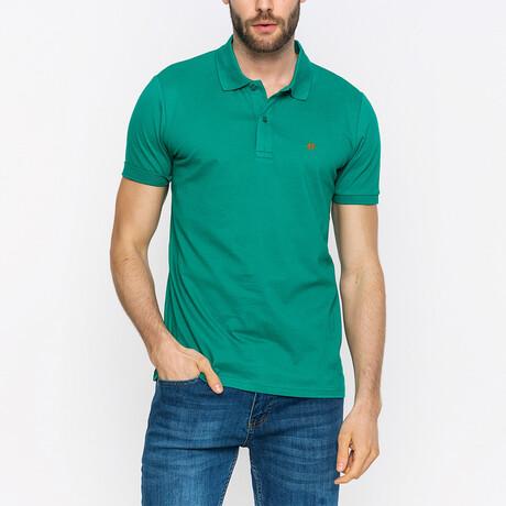 John Short Sleeve Polo Shirt // Green (XS)