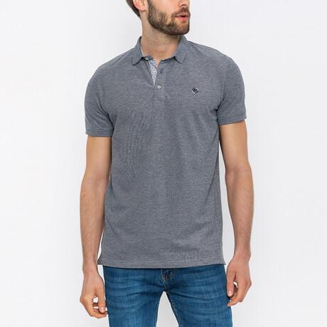 Frank Short Sleeve Polo Shirt // Dark Gray (XS)