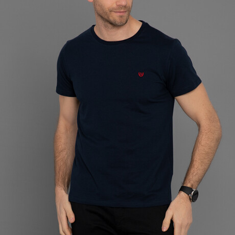 Austin T-Shirt // Navy (S)