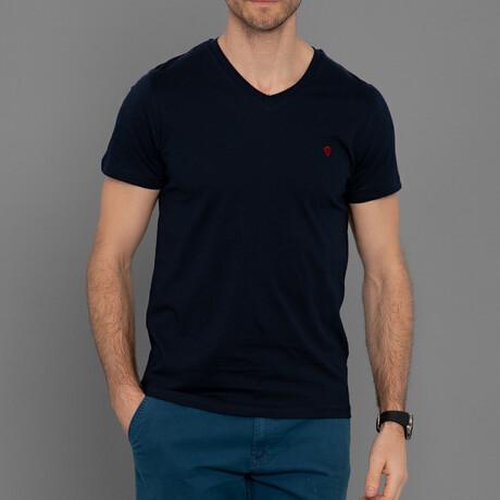 Marshall T-Shirt // Navy (S)