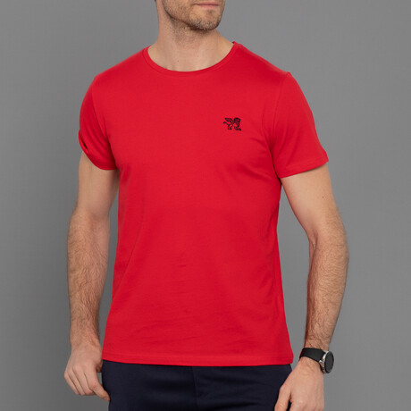 Liam T-Shirt // Red (S)