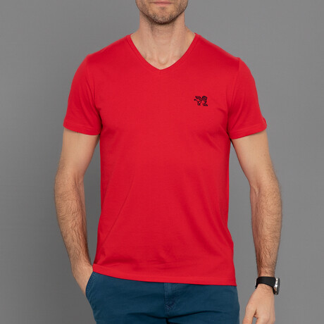 Francisco T-Shirt // Red (S)