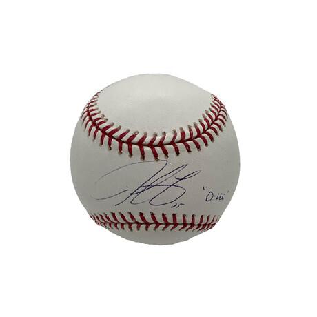 Derek Lee // Signed Baseball + Inscription // Chicago Cubs