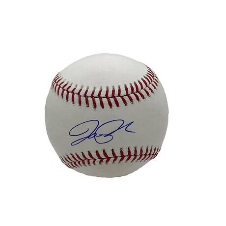 Joe Panik // Signed Baseball // Toronto Blue Jays