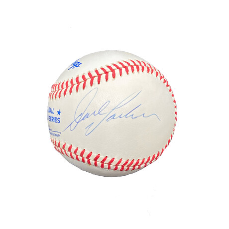 Dave Parker // Signed World Series Baseball // Pittsburgh Pirates