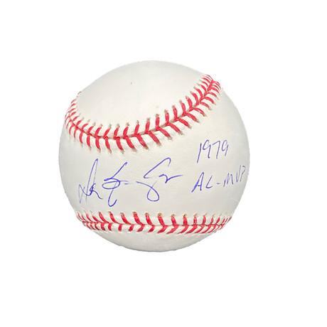 Don Baylor // Signed Baseball + Inscription // California Angels