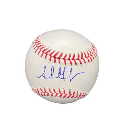 Adrián González // Signed Baseball // Los Angeles Dodgers