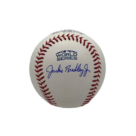 Jackie Bradley Jr. // Signed World Series Baseball // Boston Red Sox