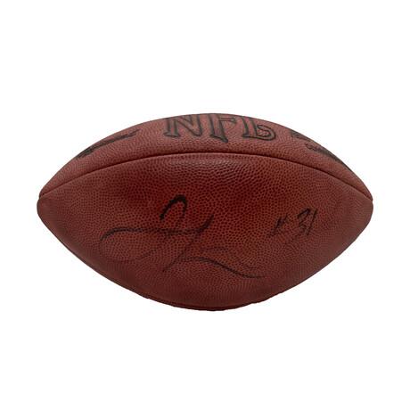 Jamal Lewis // Signed Football // Baltimore Ravens