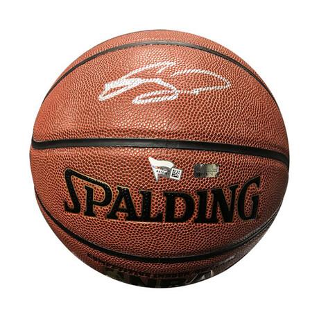 Gordan Hayward // Signed Basketball // Charlotte Hornets