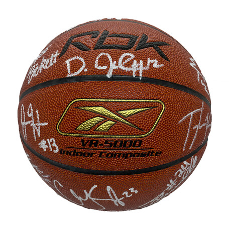 Signed 2007 Roundball Classic Basketball // 21 Signatures