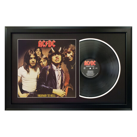 AC/DC // Highway To Hell (White Mat)
