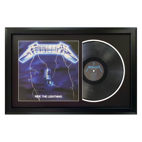 Metallica // Ride The Lightening (White Mat)