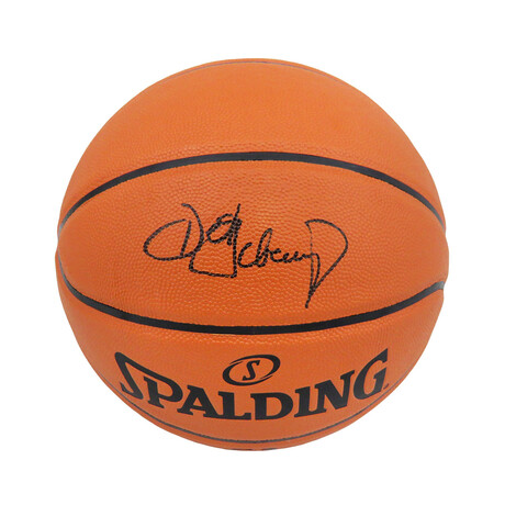 Detlef Schrempf // Signed Spalding Game Series Replica NBA Basketball