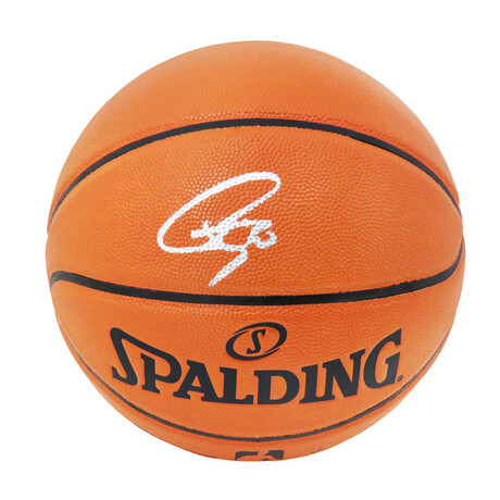 Stephen Curry // Signed Spalding NBA Game Series Replica Basketball