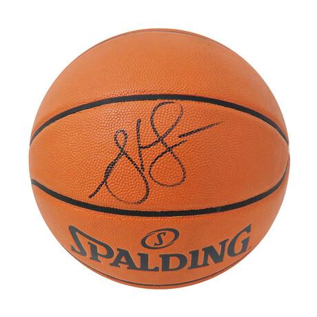 Steve Francis // Signed Spalding Game Series Replica NBA Basketball