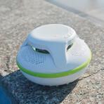 Swimmer IPX7 Floating Speaker (White + Green)