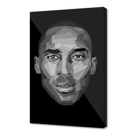 """Kobe I (12""""H x 8""""W x 0.2""""D)"""