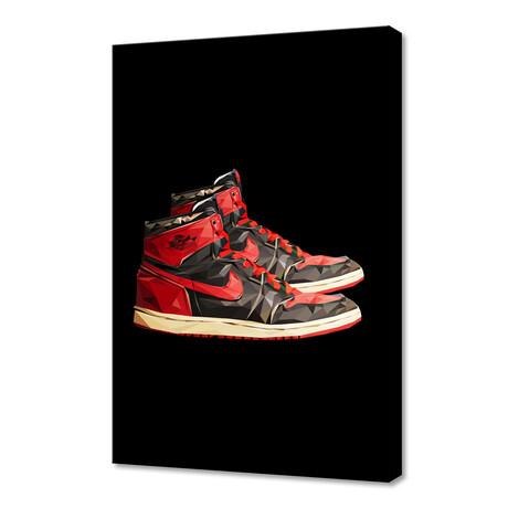 """Nike Air Jordan 1 (12""""H x 8""""W x 0.75""""D)"""