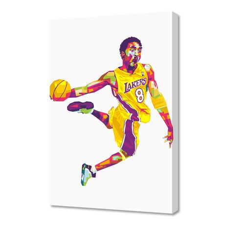 "Kobe // Limited Edition (12""H x 8""W x 0.75""D)"
