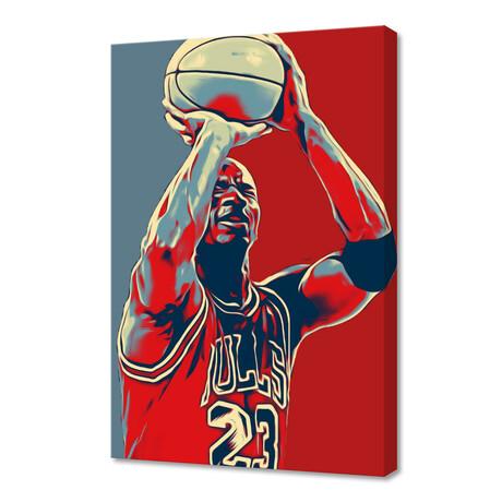"""Michael Jordan III // Limited Edition (12""""H x 8""""W x 0.2""""D)"""