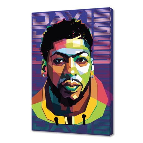 """Basketball Player In Pop Art Style 2 (12""""H x 8""""W x 0.2""""D)"""
