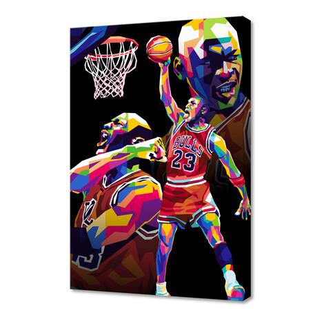 "Sport Pop Art // Limited Edition (12""H x 8""W x 0.75""D)"