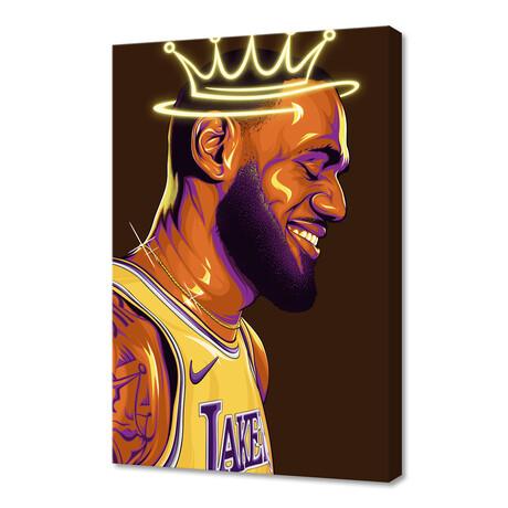 "Lebron ""The King"" James (12""H x 8""W x 0.75""D)"