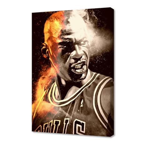 """Michael Jordan II // Limited Edition (12""""H x 8""""W x 0.75""""D)"""