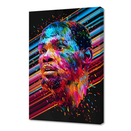 """Kevin Durant (12""""H x 8""""W x 0.75""""D)"""