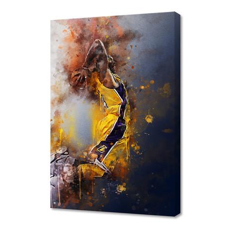 """Kobe Bryant III (12""""H x 8""""W x 0.75""""D)"""