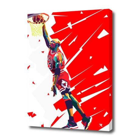 """Michael Jordan III // Limited Edition (12""""H x 8""""W x 0.75""""D)"""