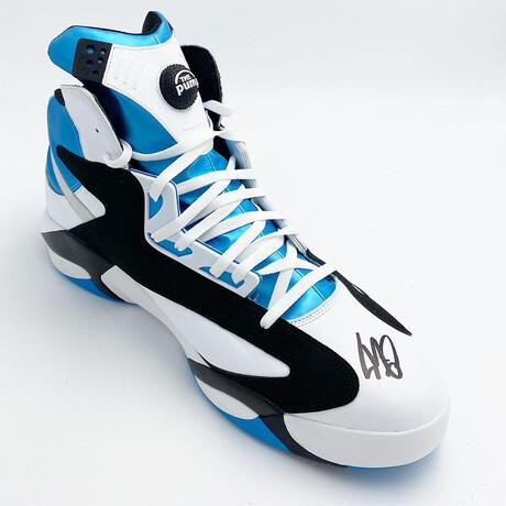 Shaquille O'Neal // Autographed Size 22 Reebok Pump Shoe