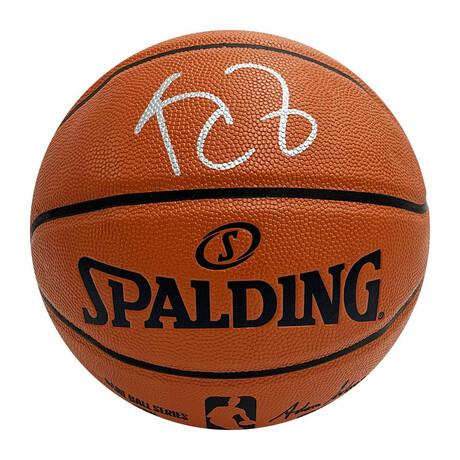 Kevin Garnett // Autographed Spalding Basketball