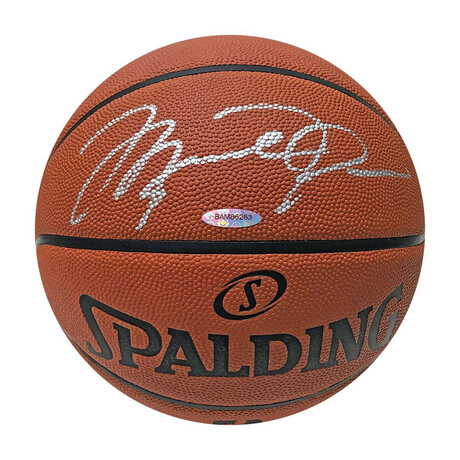 Michael Jordan // Autographed Spalding Basketball (UDA)