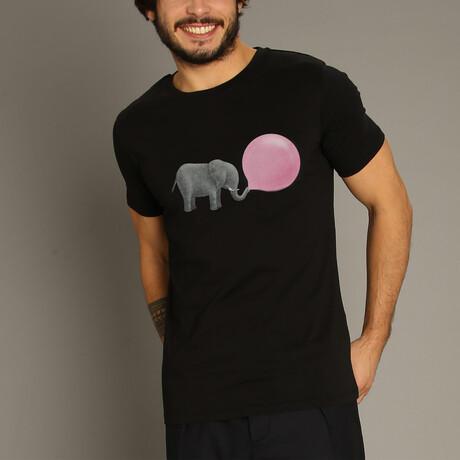 Jumbo Bubble Gum T-Shirt // Black (S)