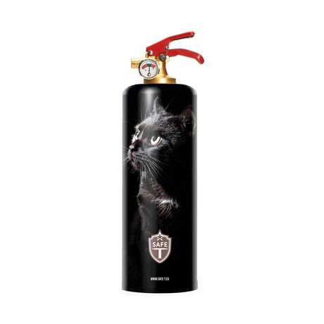 Safe-T Design Fire Extinguisher // Black Cat