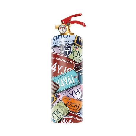 Safe-T Design Fire Extinguisher // Porsche