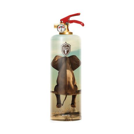 Safe-T Designer Fire Extinguisher // Elephant SKY