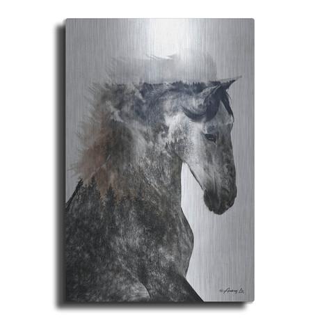 "Proud Stallion (16""H  x 12""W  x  0.13""D)"