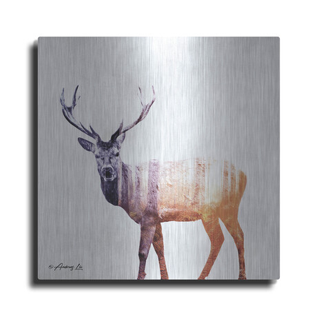 """Deer (12""""H  x 12""""W  x  0.13""""D)"""