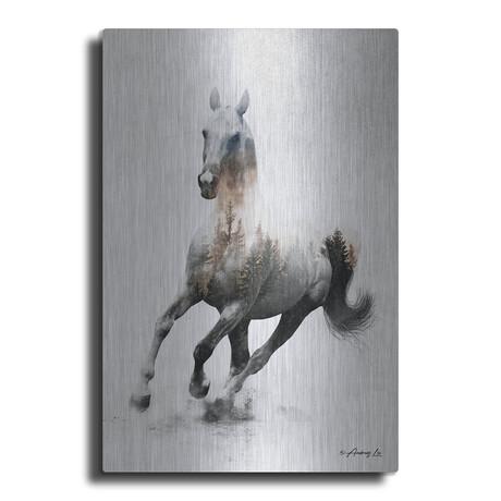 "Galloping Stallion (16""H  x 12""W  x  0.13""D)"