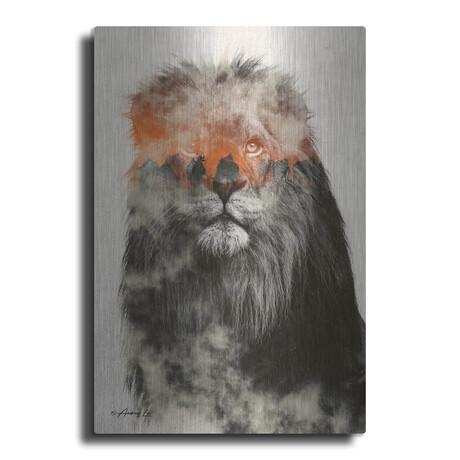 """Lion (16""""H  x 12""""W  x  0.13""""D)"""