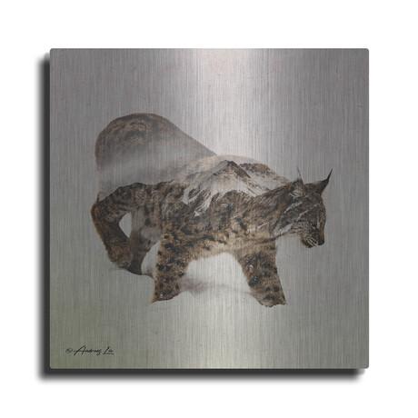 "Lynx // North (12""H  x 12""W  x  0.13""D)"