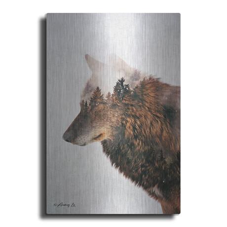 """Wolf (16""""H  x 12""""W  x  0.13""""D)"""