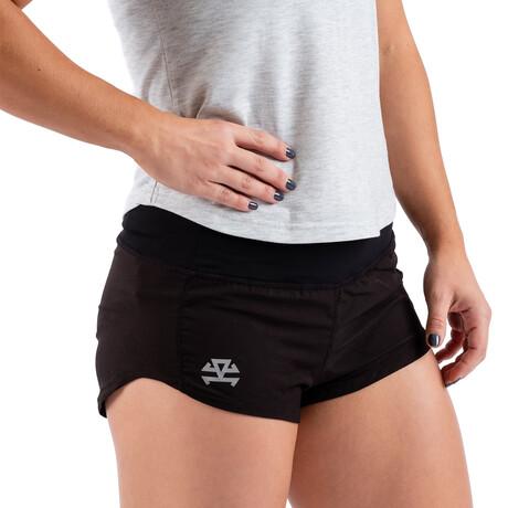 Women's RX Training Shorts // Black (XXS)