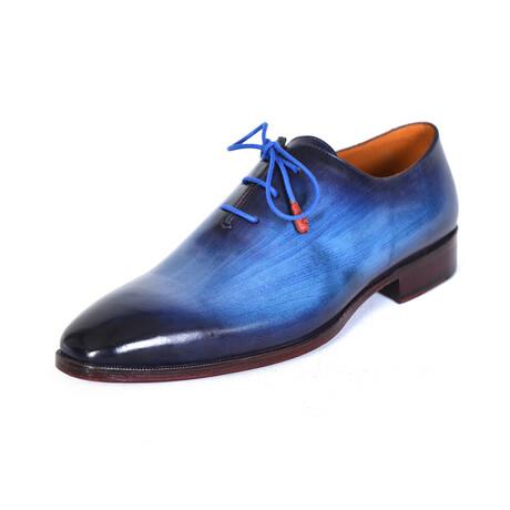 Plain Toe Wholecut Oxfords // Blue (US: 7)