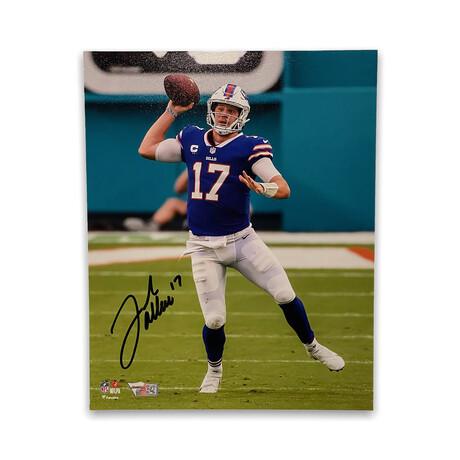 Josh Allen // Buffalo Bills // Signed Photograph